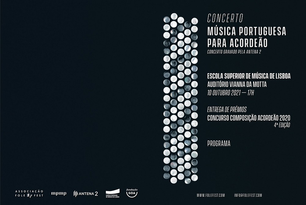 Concerto Música Portuguesa para Acordeão - Auditório Vianna da Motta - Escola Superior de Música de Lisboa