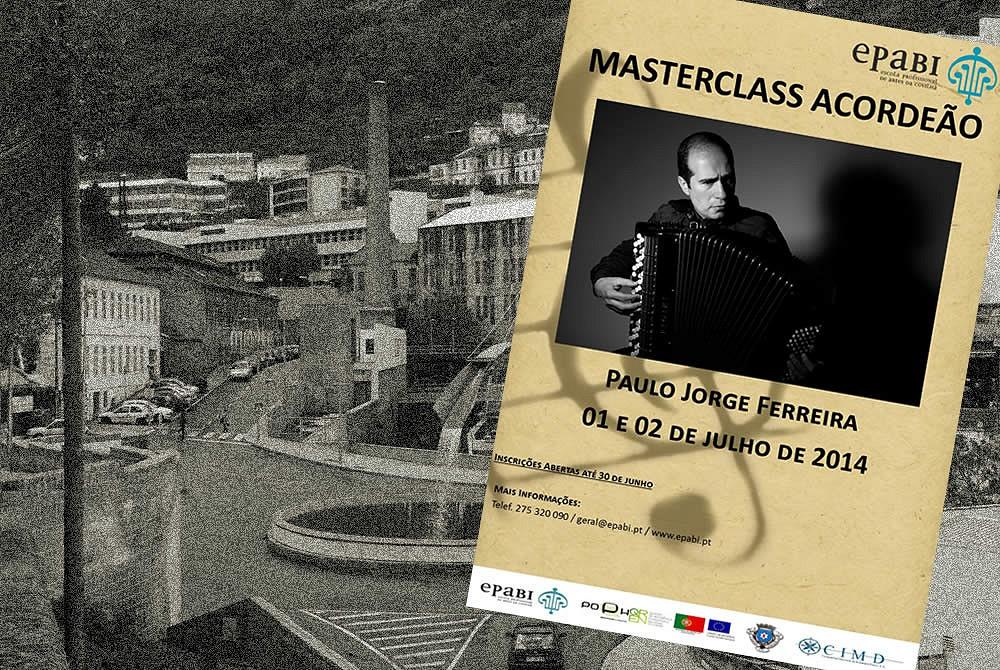 Masterclass de Acordeão - Escola Profissional de Artes da Beira Interior - Covilhã