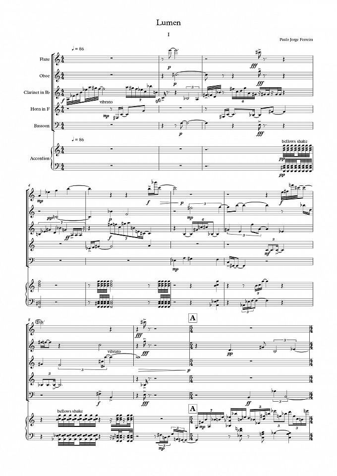 Lumen - Quinteto de Sopros e Acordeão